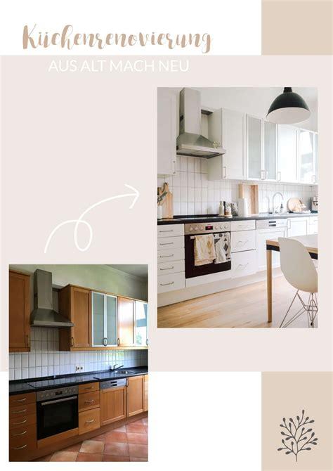 Alte Küche Verschönern by K 252 Chenrenovierung Aus Alt Mach Neu Wohnen