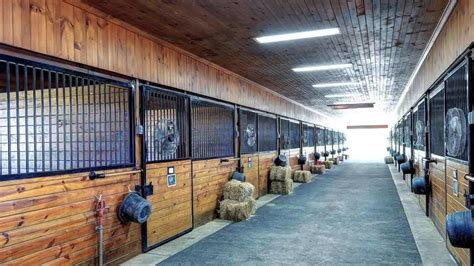 100 percheron builders barns and stalls equine