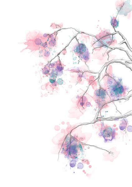 watercolor tree stock photo  oaurea
