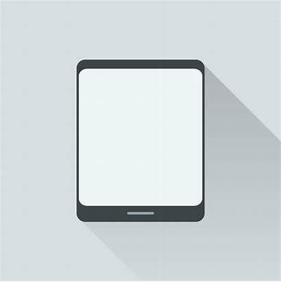 Tablet Vector Illustration Digital Isolated Graphics Clipart