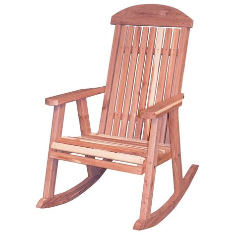 amerihome amish made unfinished patio rocking chair 801736