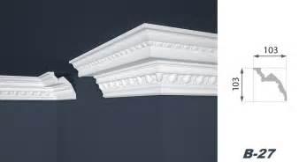 design vinylboden 2 meter stuckprofil styropor deckenleiste dekoration 103x103mm b 27 decke zierleisten mit