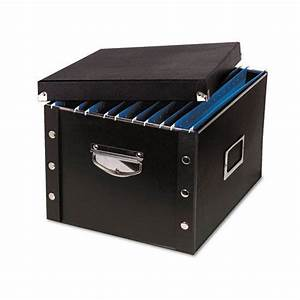 ideastream idesns01536 snap n store letter size file box With snap n store letter size file box