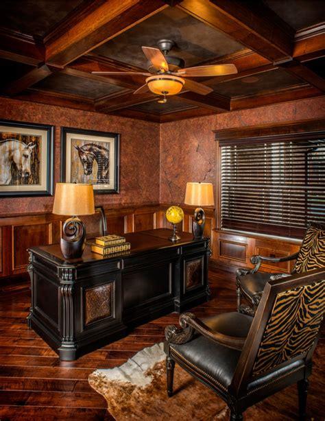 20+ Rustic Home Office Designs, Decorating Ideas Design