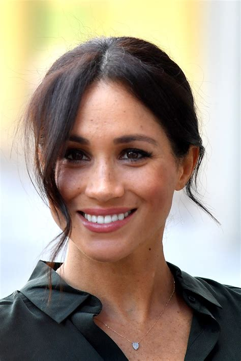 Meghan markle, her royal highness the duchess of sussex, married prince harry in 2018 at st. Meghan Markle Brought Back Her Wedding Hair For Her First Trip to Sussex | Glamour