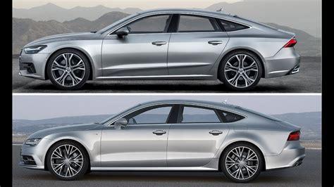 2019 Audi A7 Dimensions by New 2019 Audi A7 Sportback Vs 2017 Audi A7 Sportback
