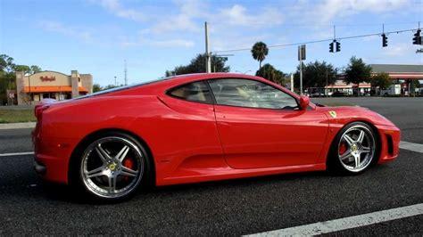 ferrari f430 custom ferrari f430 w custom rims acceleration on street 1080p