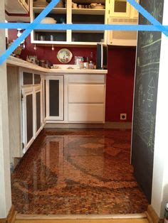 kitchen floor made of pennies 1000 images about copper floors and other copper 8070