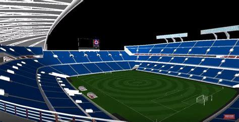 realizan propuesta en   el nuevo estadio azul