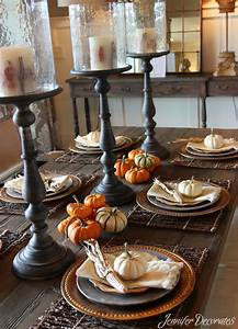 Fall, Table, Decorations, That, Are, Easy, And, Affordable