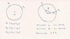 Kreissegment Radius Berechnen : kreis grad auf kreis bestimmen mathelounge ~ Themetempest.com Abrechnung