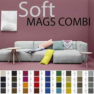Hay Mags Soft : sofa mags soft en tissu combinaisons modulables hay ~ Orissabook.com Haus und Dekorationen