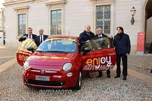 Enjoy: a Milano il nuovo car sharing di Eni con Fiat 500 e ...