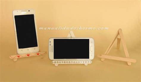 Porta celulares Soporte para moviles Manualidades para