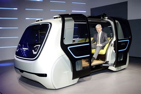 Saln De Ginebra 2017 Volkswagen Sedric Concept Una