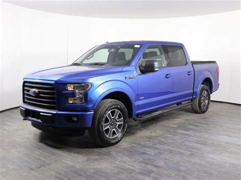 Off Lease Only 2015 Ford F 150 V6 SuperCrew XLT EcoBoost