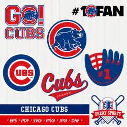 Chicago Cubs Baseball Clip Art