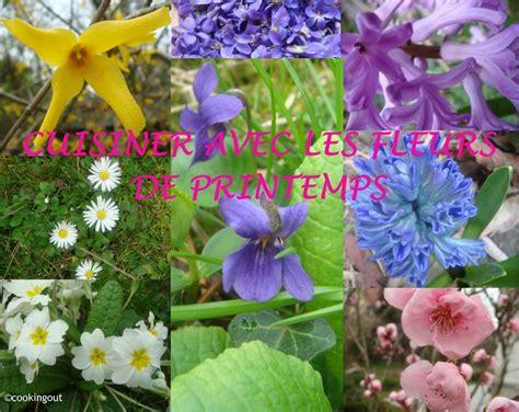 cuisiner avec des fleurs cuisiner avec les fleurs de printemps album photos un