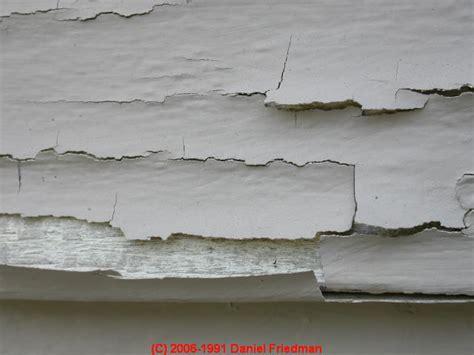 paint analysis peeling paint diagnosing  preventing