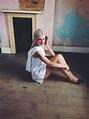 Pure White Dress   Freya Edmondson Model   Nicola Joy ...