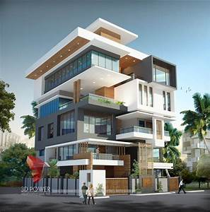 Corporate Building Design 3D Rendering: Corporate