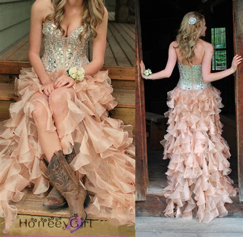 Prom Dress,sequin Prom Dress,country Style Prom By Lass On