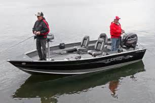 lund  pro guide freshwater fishing boat