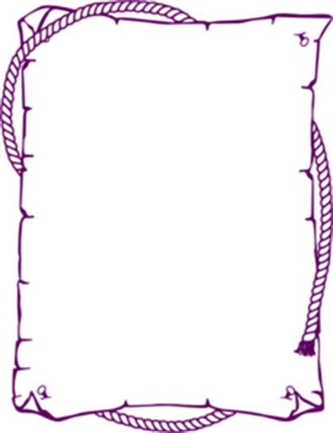 purple western border clip art  clkercom vector clip