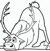 HD wallpapers sven reindeer coloring page 3d2wallandroid.gq