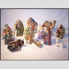 "2001 Homco Home Interiors ""the Nativity"" 12 Piece Nativity"