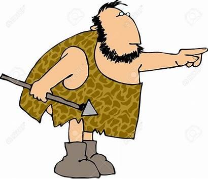 Caveman Cartoon Clipart Webstockreview Hunting Silhouette Peanut
