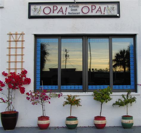 opa opa greek restaurant   sarasota