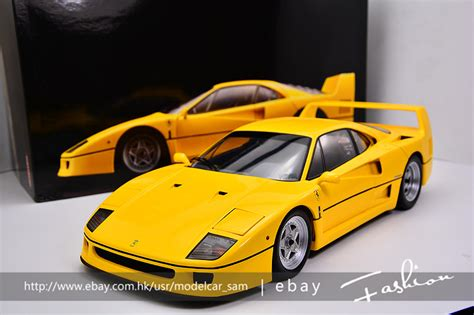 Yellow F40 by Kyousho 1 12 F40 Yellow No 1 18 Ebay