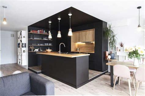 inspiration cuisine ouverte une cuisine et bois au coeur d 39 une rénovation