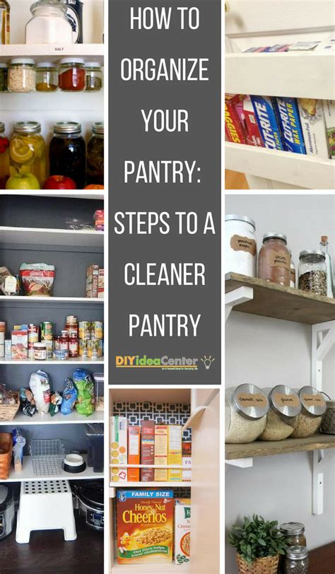 organize  pantry steps   cleaner pantry