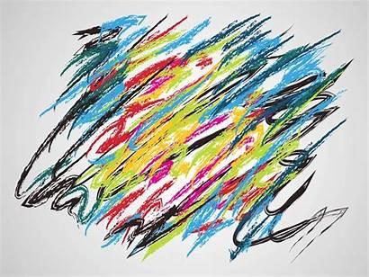 Modern Vector Paint Graphics Vectors Strokes Artwork