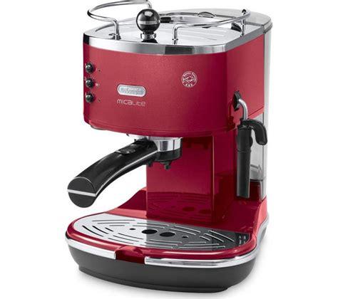 espresso maschine delonghi buy delonghi icona micalite ecom 311 r coffee machine free delivery currys