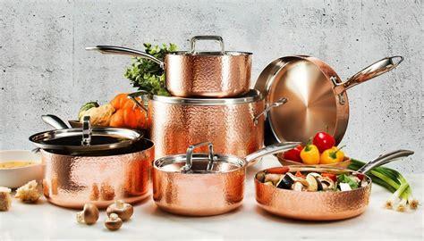gotham steel  piece hammered nonstick copper cookware set    tv   ebay