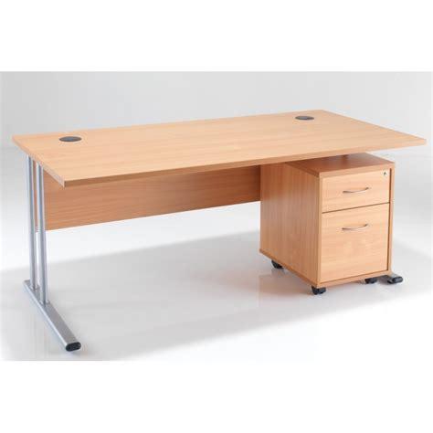 office desk with drawers rectangular office desk under desk pedestal bundle deal