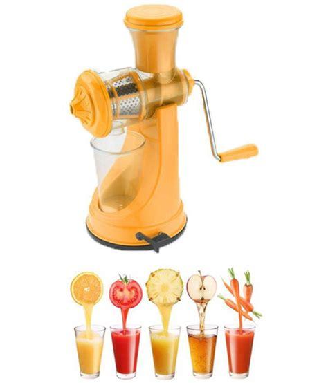 juicer manual yellow installation