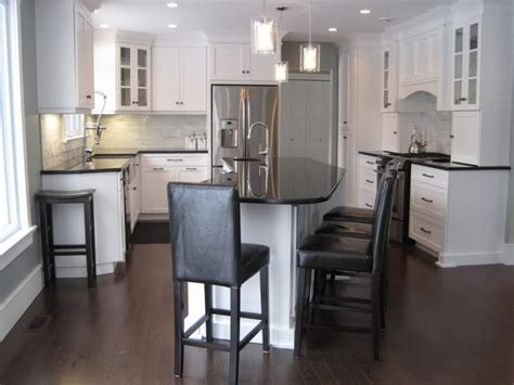 Angled Kitchen Island   Transitional   kitchen