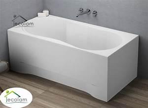 Acryl Badewanne Reinigen : badewanne wanne rechteck acryl 140 x 70 cm sch rze ~ Lizthompson.info Haus und Dekorationen