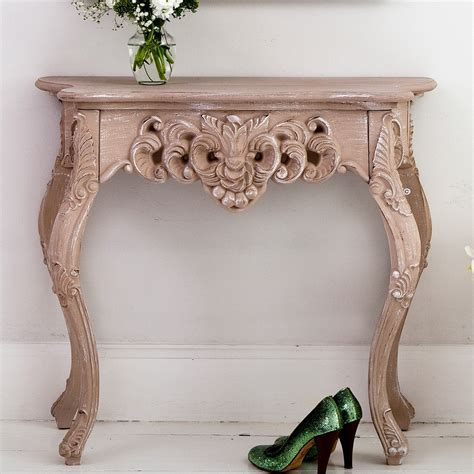 console table shabby chic french side table modern consoles french bedroom company