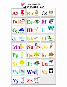 freeprintablealphabetlettersflashcards english act With 2 letter words flash cards