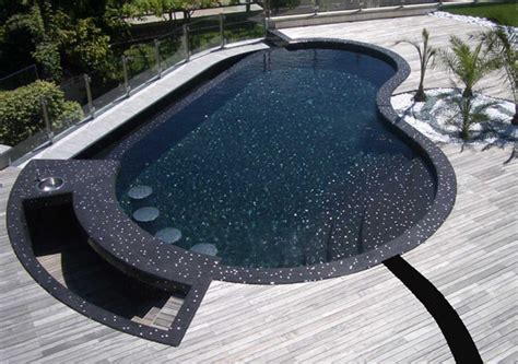 furniture for livingroom mosaic glass pool in villa lugano switzerland