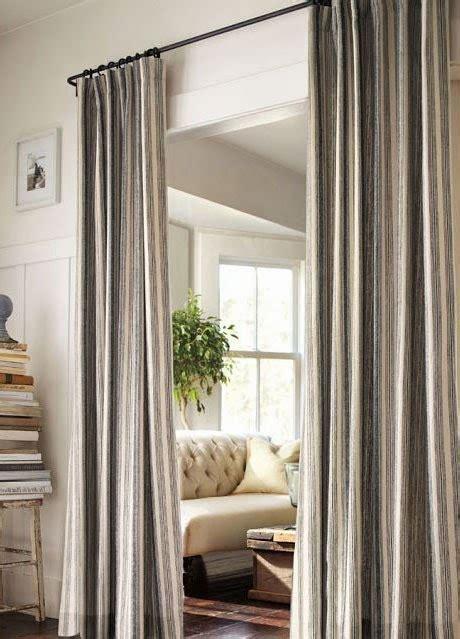 curtain ideas hanging curtains   closet doors