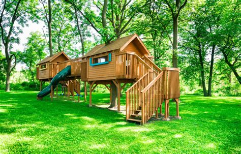 Backyard For Children by 45 Awesome Backyard Playhouse Ideas Photos