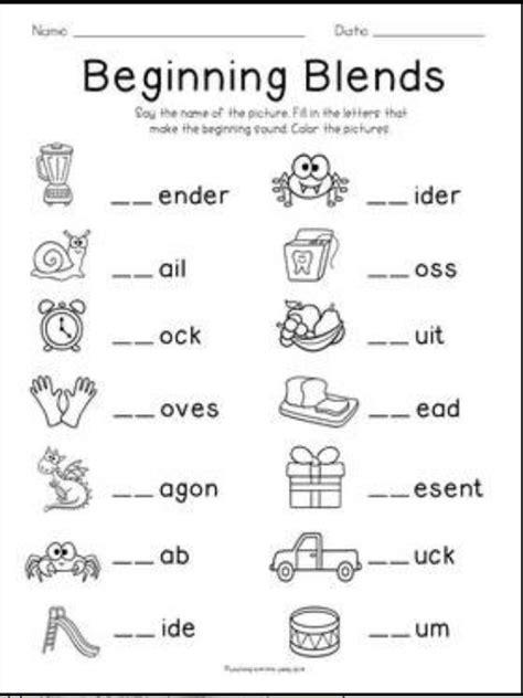 blending words for preschoolers blends and digraphs freebie kindergartenklub 913