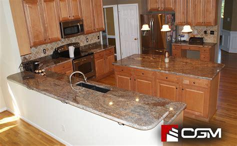 crema bordeaux classic granite kitchen countertops