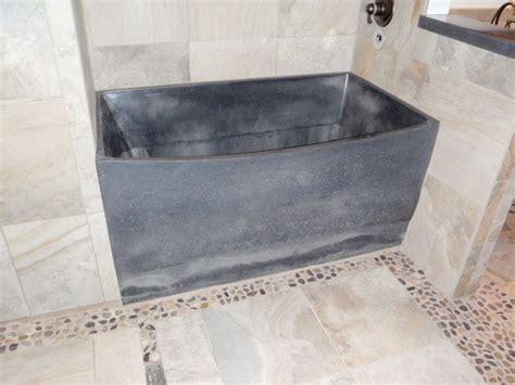 cement tub pre cast concrete bathtub contemporary bathtubs seattle by vc studio inc
